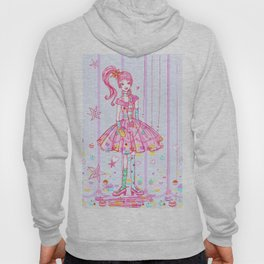 Pink Cupcake Girl Hoody