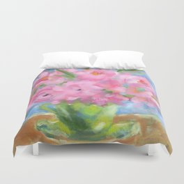 Teacup Pinks Duvet Cover