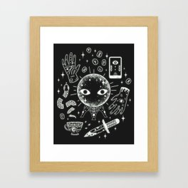 I See Your Future: Glow Framed Art Print