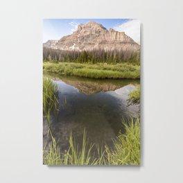 Reflect on yourself Metal Print