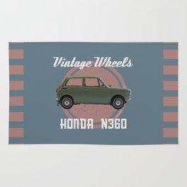 Vintage Wheels - Honda N360 Rug