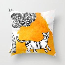 Animal series Throw Pillow