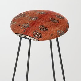 Bakhshaish Azerbaijan Northwest Persian Carpet Print Counter Stool