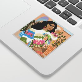Sweater Weather Sticker