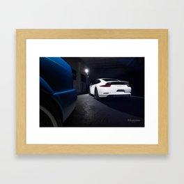 Porsche 911 Carrera S Framed Art Print