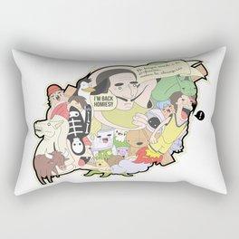 Salvador Dalì Rectangular Pillow