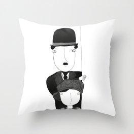 The Kid Throw Pillow