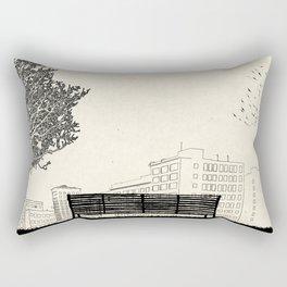 Tom's Favourite Spot —Angels Knoll Park, LA —(500) Days of Summer Rectangular Pillow