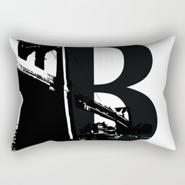 Be As In Brooklyn Rectangular Pillow