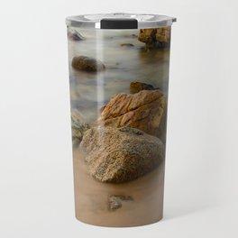 Rocky Coastline Vietnam Travel Mug