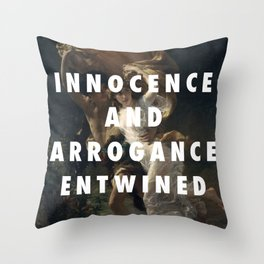 My Storm Was Made For You Throw Pillow
