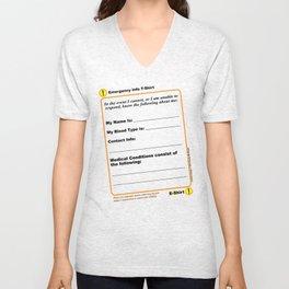 The E-Shirt Unisex V-Neck