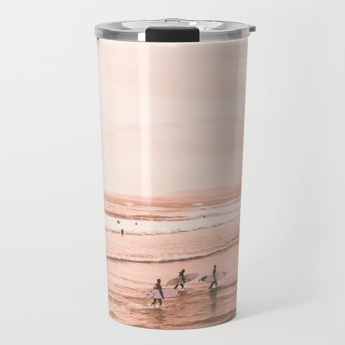 Surfing Travel Mug