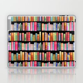 Antique Book Library for Bibliophile Laptop & iPad Skin