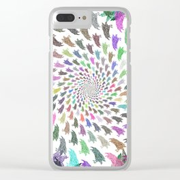 Corvids Forever Clear iPhone Case