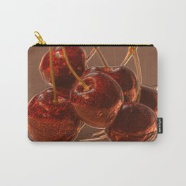 Glamoure Cherries Carry-All Pouch