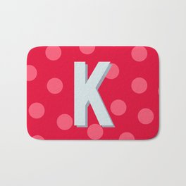 K is for Kindness Bath Mat