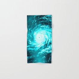 WaTeR Aqua Turquoise Hurricane Hand & Bath Towel