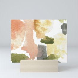 Great New Heights Abstract Mini Art Print