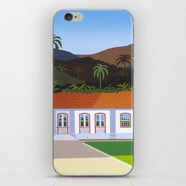 BOTANICAL GARDEN IN RIO DE JANEIRO iPhone Skin