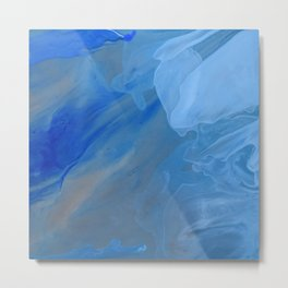 Blue Blue Metal Print