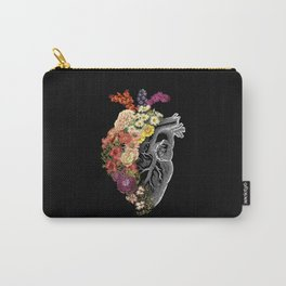 Flower Heart Spring Carry-All Pouch