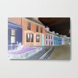 street of neon Metal Print