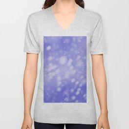 Purple Ombre Unisex V-Neck