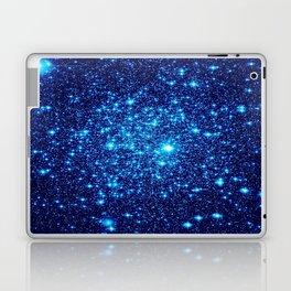 Vivid Blue gALaxY Stars Laptop & iPad Skin
