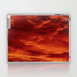 Inferno Skies Laptop & iPad Skin