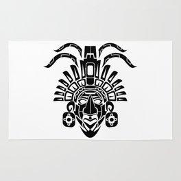 Mayan Mask Rug