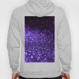 Pantone Color 2018 Ultra Violet Purple Glitter Hoody
