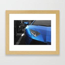 Lambo Eyes Framed Art Print