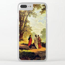 Road To Emmaus Clear iPhone Case