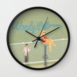 Wendy Peffercorn Wall Clock