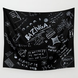 Big Bang Pattern Wall Tapestry