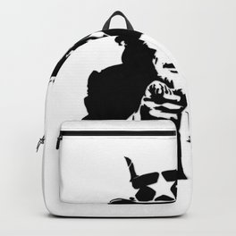 Black and White Uncle Trump Needs You Backpack