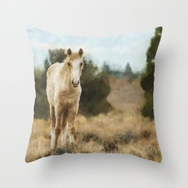 Awkwardly Appealing Throw Pillow