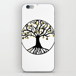 """Yggdrasil"",Golden,Tree of Life,HOME DECOR,Duvet Covers,Comforters,Bed spreads,Blankets,Backpack iPhone Skin"