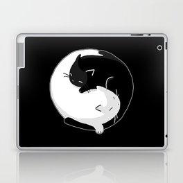 Yin Yang Cats Laptop & iPad Skin