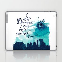 The Lunar Chronicles Quote Laptop & iPad Skin