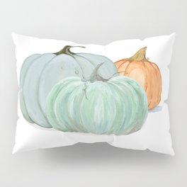 Colorful pumpkin trio Pillow Sham