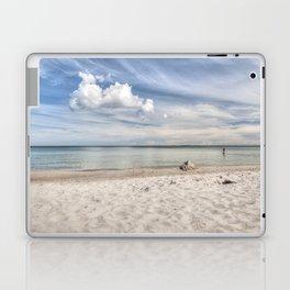 Dream beach Sea Ocean Summer Maritime Navy clouds Laptop & iPad Skin