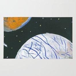 Europa and Io Rug