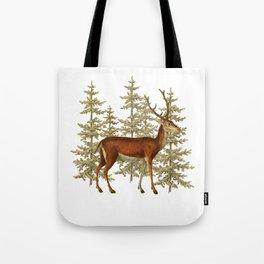 Wandering deer  Tote Bag