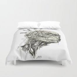 Growing Insanity Duvet Cover
