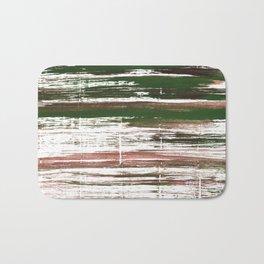Kombu green abstract watercolor Bath Mat