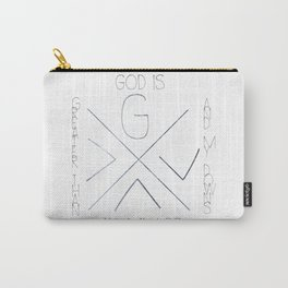 God is greater Carry-All Pouch