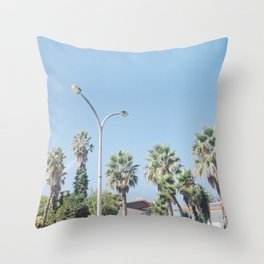 A Family of Trees Throw Pillow