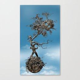 In Fato Scientia Canvas Print